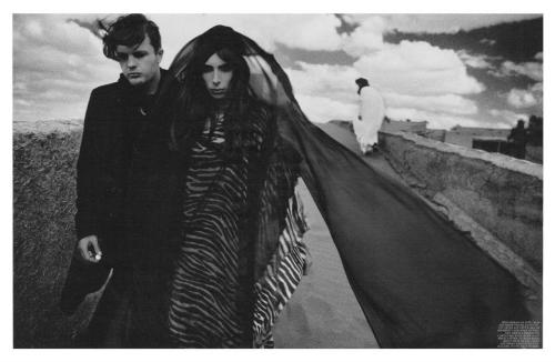 Jamie Bochert by Michael Pitt for Interview April 2012