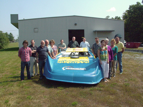 performanceparts.com dirt racing car