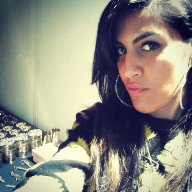 Backstage #melodyehsani #jeremyscott  (Taken with Instagram)