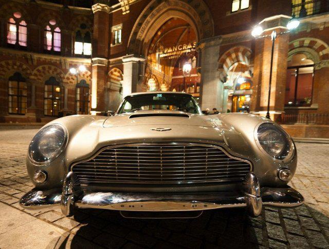 George Harrison's 1964 Aston Martin DB5.