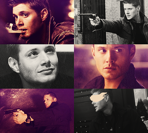 05. Dean Winchester - Supernatural25 males + 25 females / Top 50 favorite tv characters in same colors