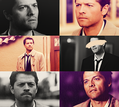 04. Castiel - Supernatural 25 males + 25 females / Top 50 favorite tv characters in same colors