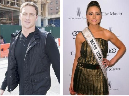 Are Team USA swimmer Ryan Lochte and Miss USA Olivia Cuplo a couple?!?… Doubtful, but the two were spotted together at NYC Fashion Week and then sharing a table at a trendy night spot afterwards. The two met about a week ago so there could be something brewing.