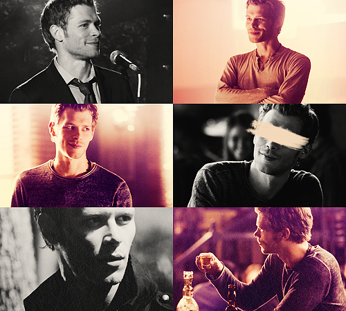 02. Klaus - Niklaus Mikaelson - The Vampire Diaries 25 males + 25 females / Top 50 favorite tv characters in same colors