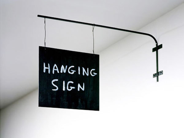 David Shrigley Sculpture