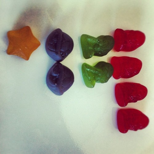 Delicious fruit snacks brings back memories (Taken with Instagram)