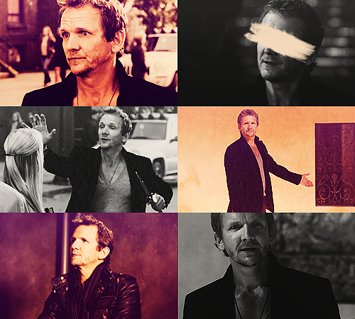 01. Balthazar - Supernatural 25 males + 25 females / Top 50 favorite tv characters in same colors