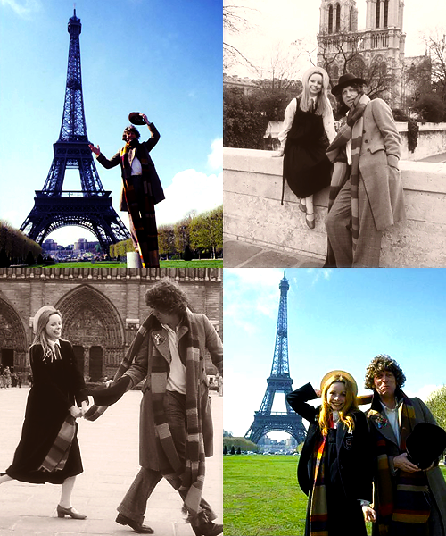 doctor who meme | eight places (05) | paris, 1979