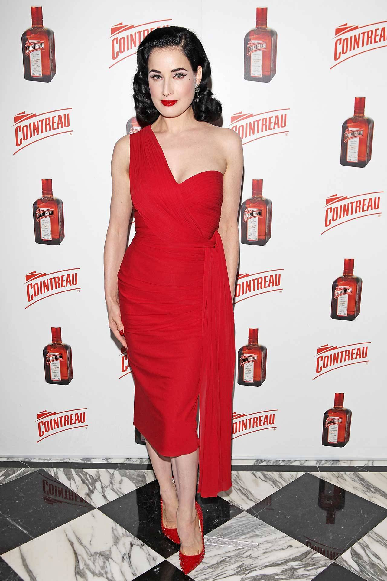 Dita Von Teese at The Dover Street Arts Club in London, September 9th