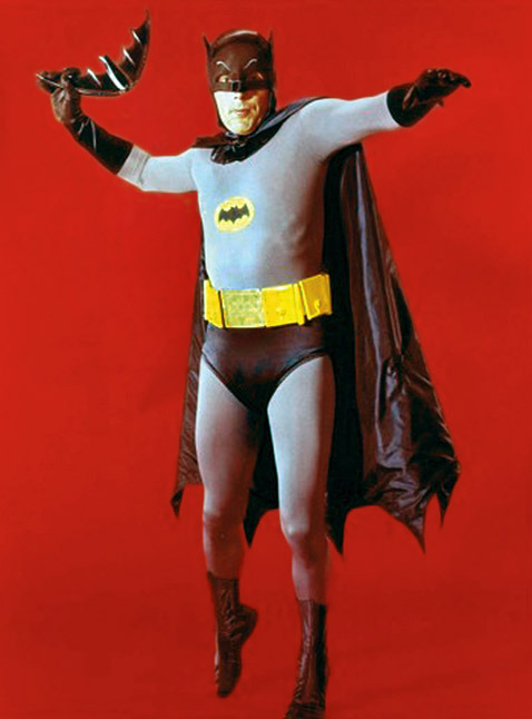 Adam West as Batman (1966)