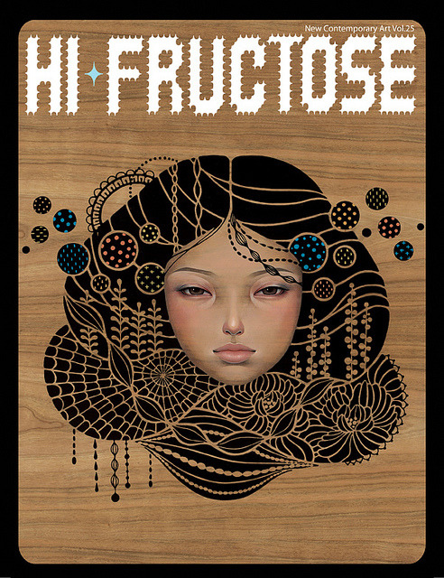 Hi-Fructose Cover of Vol.25 revealed! With exclusive HF Store cover by Audrey Kawasaki only available here: http://store.hifructose.com/