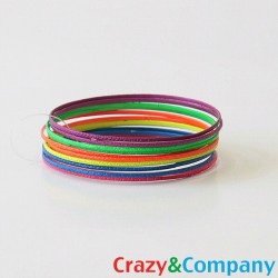 Crazy Neon Bangles from today's post - Available at www.crazyandco.com $15.00 #crazyandco #bangles #neon #trend (Taken with Instagram)