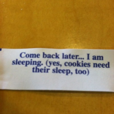 My fortune today? (Taken with Instagram)