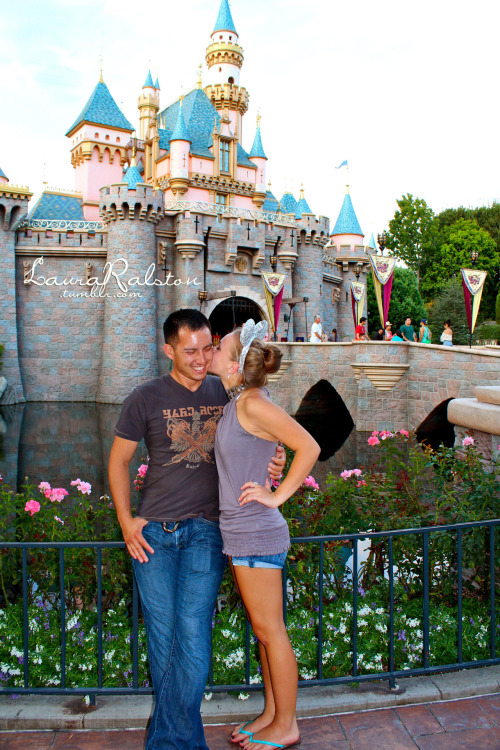 Happiest place on Earth. Right next to this dude :)