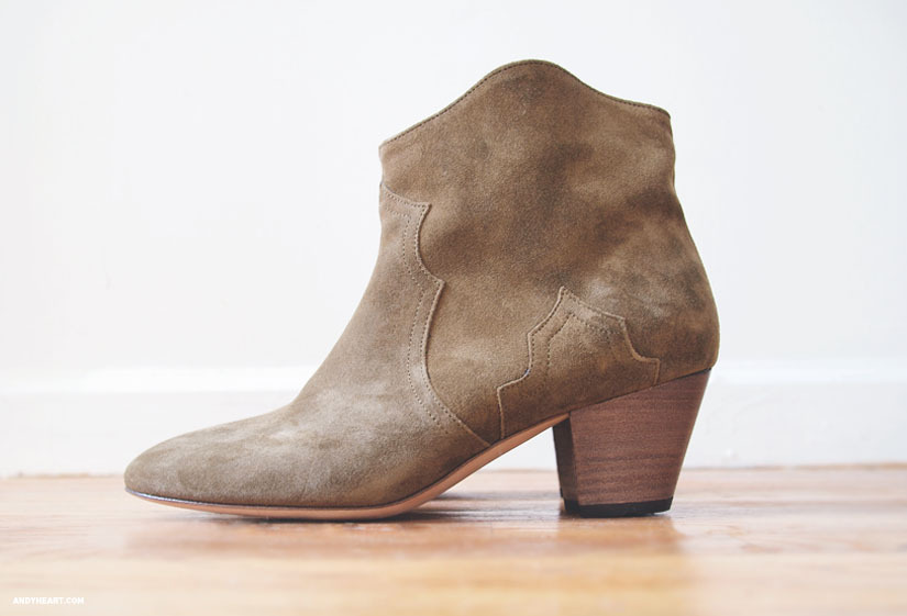 ISABEL MARANT BOOTS also in black (image: andyheart)