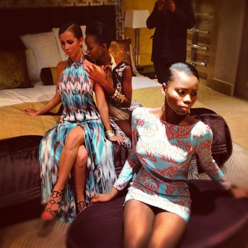 More from tonight's pre-London Fashion Week presentation at The Mayfair hotel with @meilinginc & @collisduranty (Taken with Instagram at The May Fair Hotel)