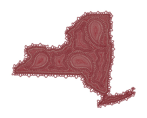 New York Paisley. Digital 2012. Part of batch #2 for my Paisley State Series :)