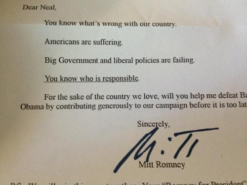 nerdsforobama:  Weird that Romney is blaming Voldemort…