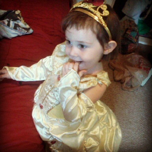 yes my daughter is belle:) (Taken with Instagram)