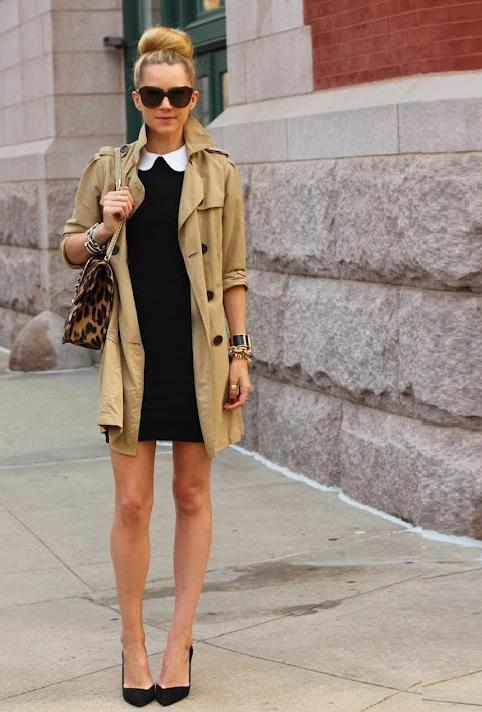 Love the look, but I'm not quite ready for fall looks yet… what-do-i-wear:  Dress: Alice + Olivia. Shoes: Zara. Trench: Gap. Sunglasses: Karen Walker 'Number One'. Purse: Valentino. Jewels: David Yurman, Pomellato, Hermes, Jcrew, Stella and Dot. (image: atlantic-pacific)