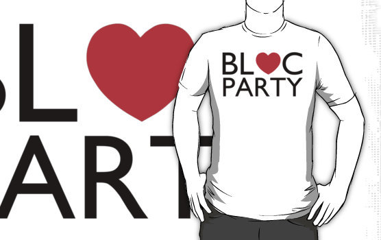 New Bloc Party tees and iPhone cases just in!