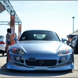 Say hello to @k_johnston! #s2000 #s2k #s2ki #honda #vtec #mugen #stance #cantmakeitupthedriveway #scraping #cantmakeitupspeedbumps #becarefulopeningthedoorwhenparkingnexttoacurb (Taken with Instagram)