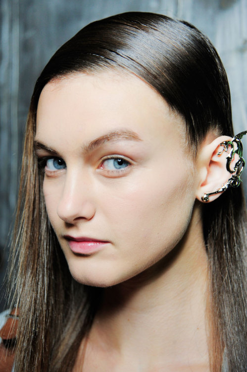 Teen Vogue fave Andie Arthur wearing the Rodarte dragon cuff