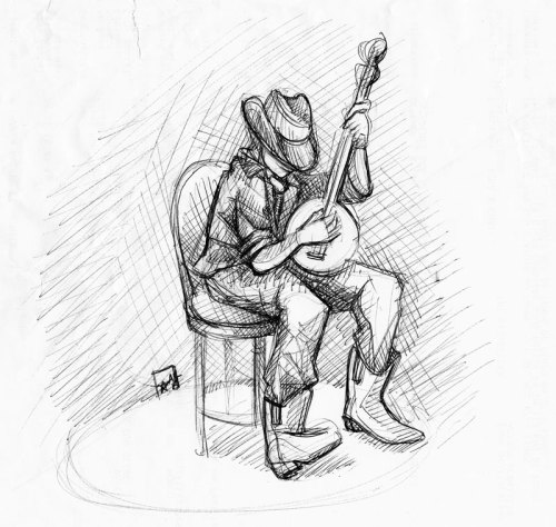 girlmeetsbanjo:  maybejustwhistle:  Banjo player ball-point pen, my favorite  nice!