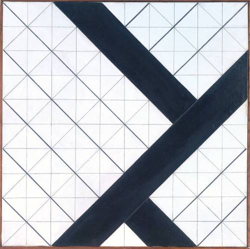 'Counter-Composition' by Theo van Doesburg (1925)