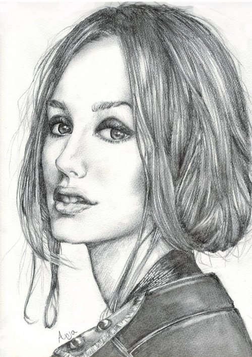 My Leighton Meester drawing