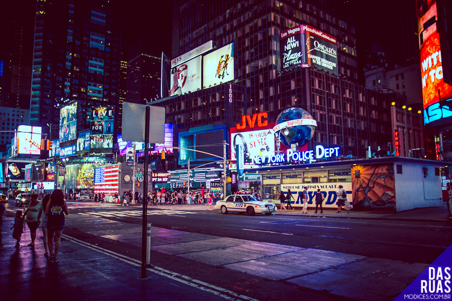 Times Square - New York, 2012 Photo by Carla Lemos