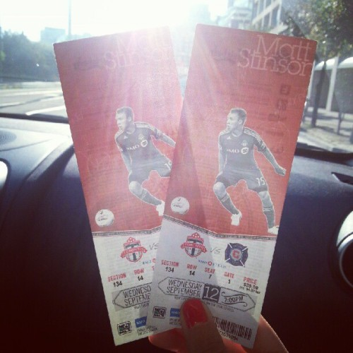 @saritaverma @ellzfernando @ellzf (Taken with Instagram at BMO Field)