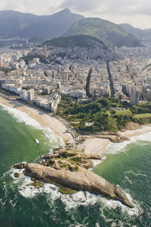 where Copacabana meets Ipanema, is where the surfers go. Rio de Janeiro via aquatic wonder*