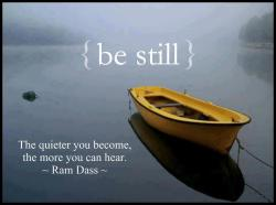pazamora:  BE STILL.