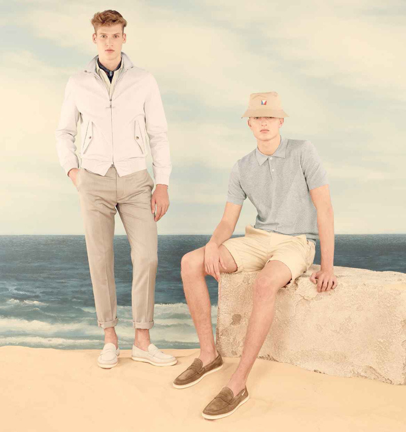 Max Rendell & Joel Meacock are Ready for the Beach with Louis Vuitton's Spring/Summer 2013 Pre-collection