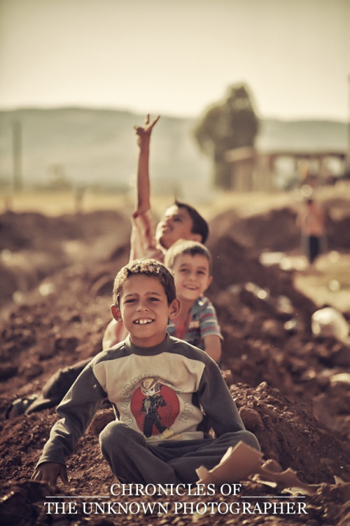 unaphotographer:  Refugee camp Syria