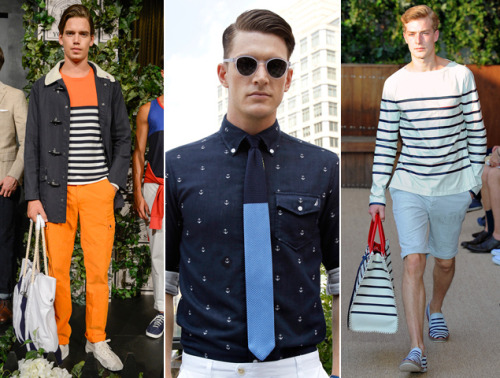 Nautical by Nature Ready to earn your stripes? Yacht club culture appears to be at an all-time high this season, with overt seafaring touches surfacing all over the place at New York Fashion Week.