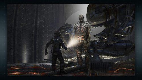 Prometheus engineer concept art