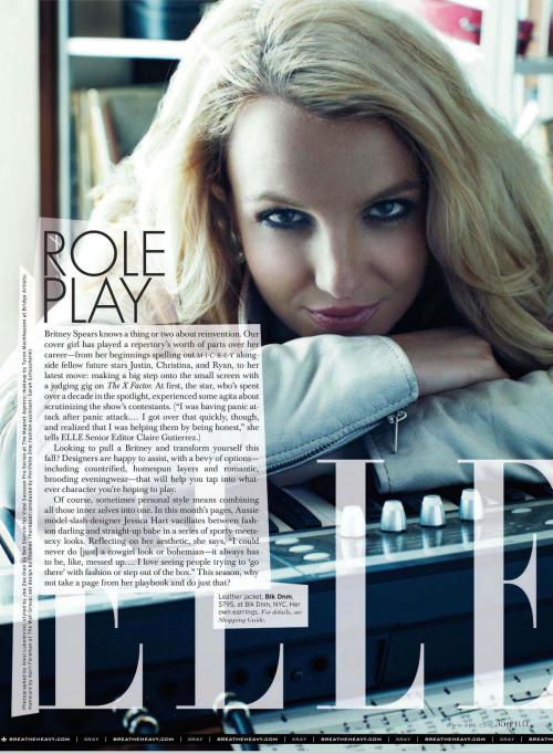 Full Elle Article On Ms.Britney Spears!