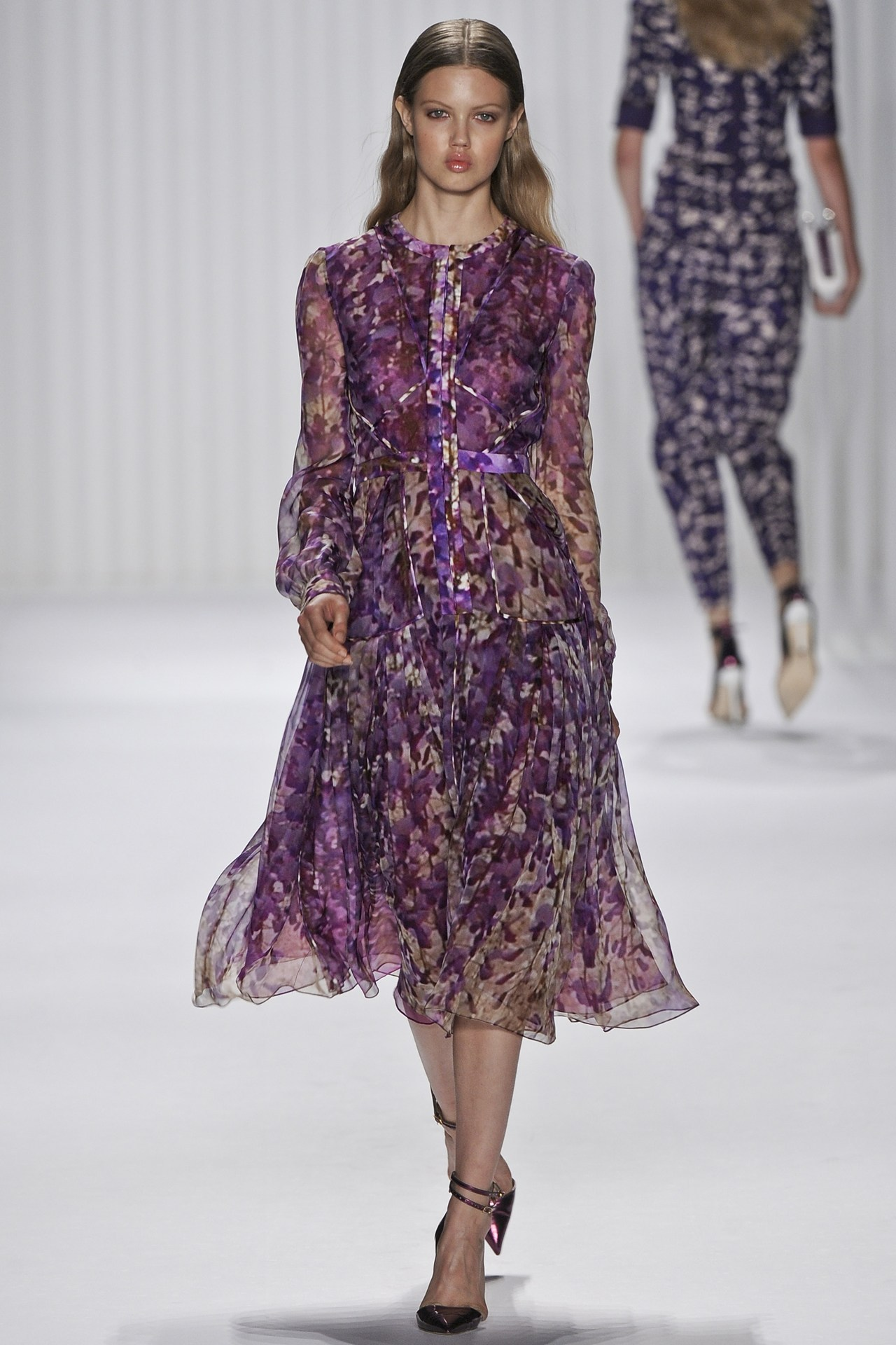 Lindsey Wixson at the J Mendel Spring/Summer 2013 show during NYFW, September 12th