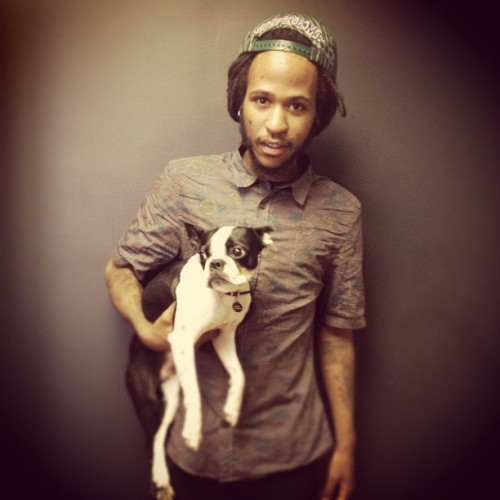 @DUTTYDY AT @AFROPUNK OFFICES WITH ZIGGY !