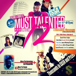 Please #SUPPORT - Demi Lobo {Most Talented Under 12} October 6th - 5pm hosted by @AustinEMaxfield from Chicagicious and @BKeys - tickets $15.00 (Taken with Instagram)