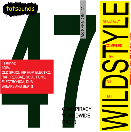 The Wildstyle #47 podcast by Tat on  Mixcloud DOWNLOAD HERE  Wildstyle Show – Here Comes the Girls Special Friday September 7th 2012   Leena Conquest – Boundaries Shirley Bassey – Light my Fire Shirley Ellis – The Clapping Song Alliance Ethnik - Respect Big Lady K – Don't get me Started  B Boy Trio Sweet Tee & Jazzy Joyce – It's My Beat Shannon – Let the Music Play Roxanne Shante – Bite This Bahamadia – You Know How We Do Sharon Redd – Never Give you up Forgotten UK Hip Hop Track Cookie Crew – Got to Keep on Portishead – Lot More Attica Blues – Contemplating Jazz Three the Hard Way Gwen McCrae – All of this Love that I'm Givin' Gwen McCrae  - Funky Sensation Gwen McCrae  - 90% of me is you Joyce Sims – All in All Erykah Badu – On & On Dread Jams Althea and Donna – Going to Negril Queen Latifah -  Princess of the Posse
