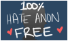 This blog is 100% Hate Anon free!></a></style>