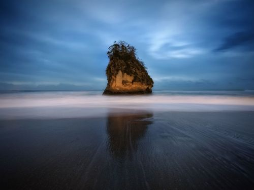 Photo du Jour Rock Beach, Japon