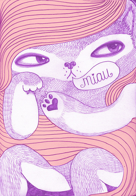 esobvio:  MIAU by cabizbaja00 on Flickr.
