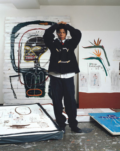"""I am not a black artist, I am an artist."" By Jean-Michel Basquiat"