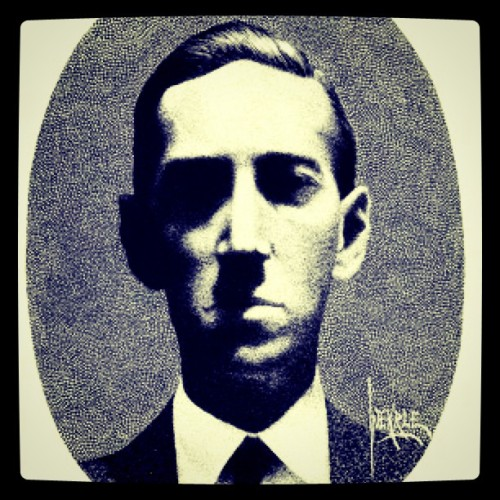 Self-Portrait. #hplovecraft (Taken with Instagram)