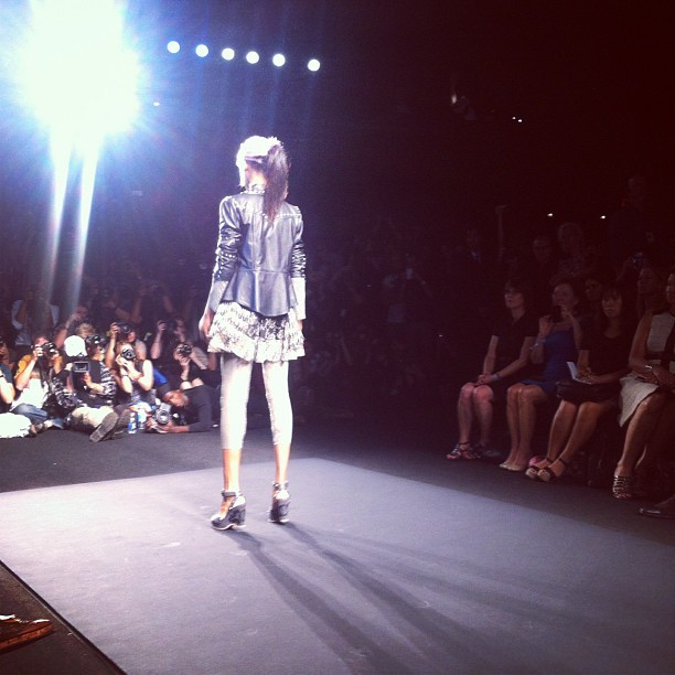 musingsinfemininity:  Punk rock vibes at Anna Sui #nyfw (Taken with Instagram)