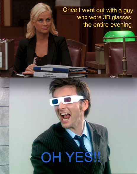 Leslie Knope and a chance meetinghttp://scificity.tumblr.com